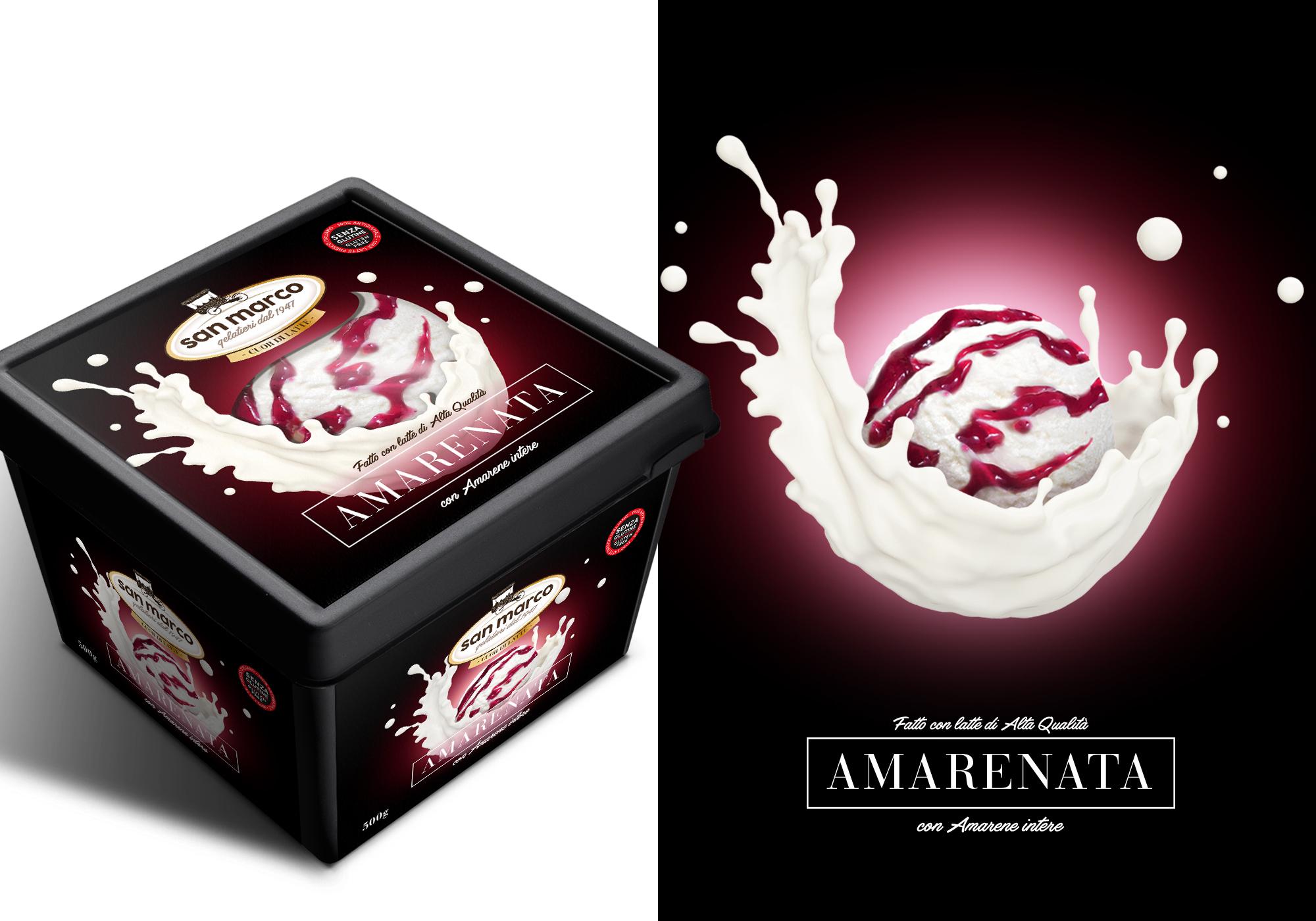 san marco cuor di latte – Amarena
