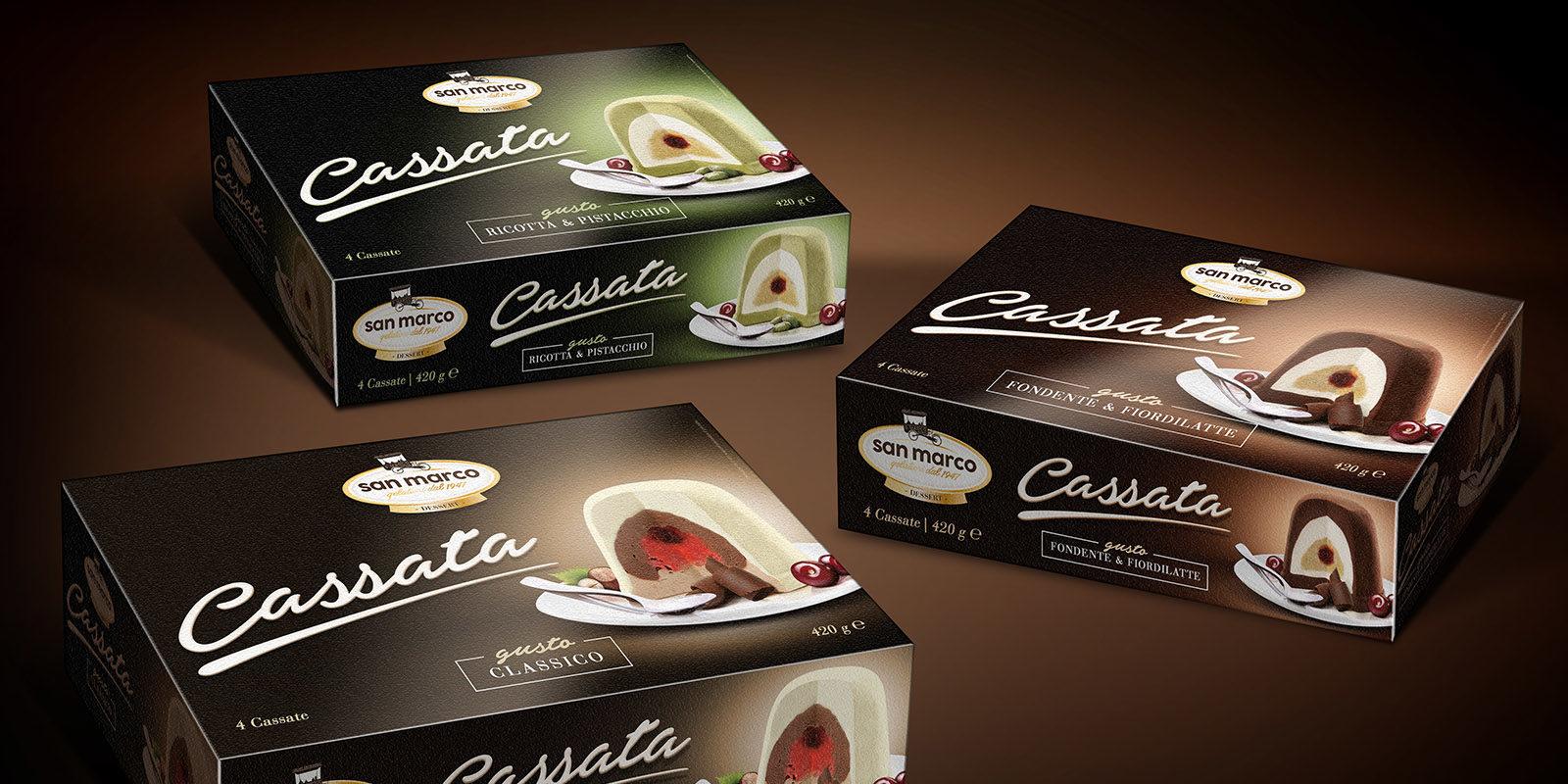 Render Cassata – Composizione