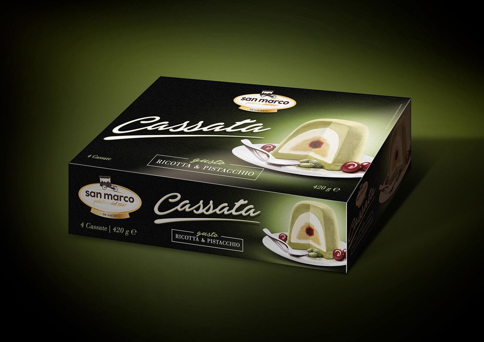 Render Cassata – pack pistacchio