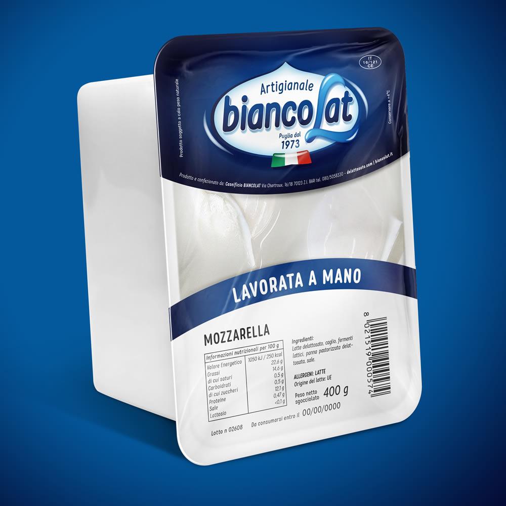 Biancolat – lavorata a mano dopo